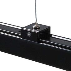 Aufhangung 3 Phasen Schienensystem Schwarz 90059 Schienensysteme Innenbeleuchtung Stahl