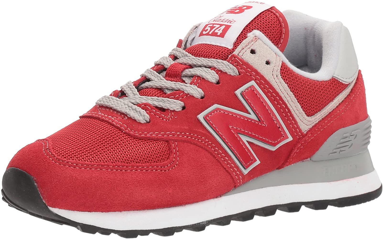 New Balance Herren Ml574e Sneaker Rot Team Red Ml574erd 41 5 Eu Amazon De Schuhe Handtaschen Modische Turnschuhe New Balance Schuhe Sneakers Mode