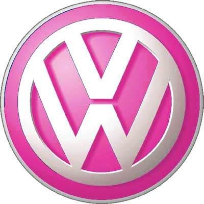 Excellent Pink VW Logo - Girly Cars for Female Drivers! Love Pink Cars  VF05