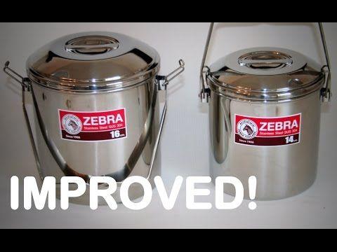 Bush Pot Improved Multi Function Zebra