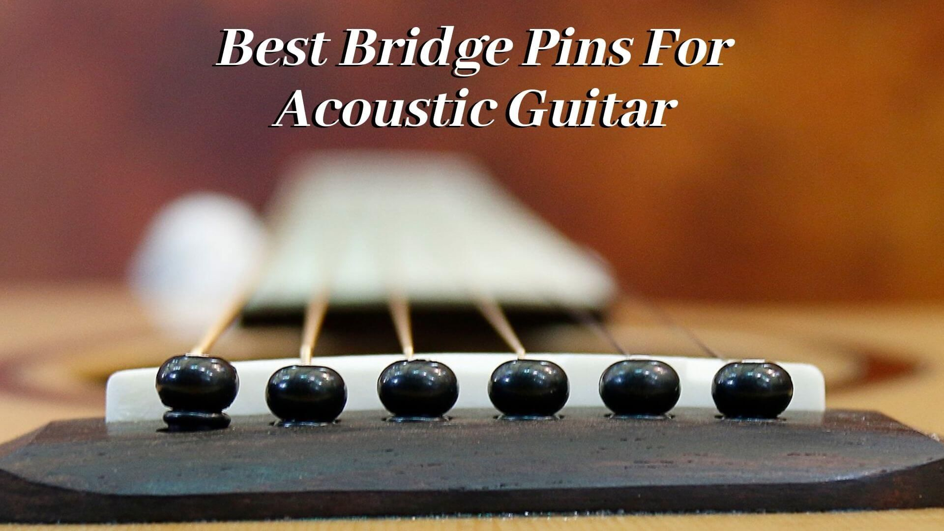 Best Bridge Pins For Acoustic Guitar Acoustic Guitar Acoustic Guitar