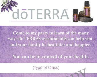 Doterra class invite for delightful invitatios ideas invitations
