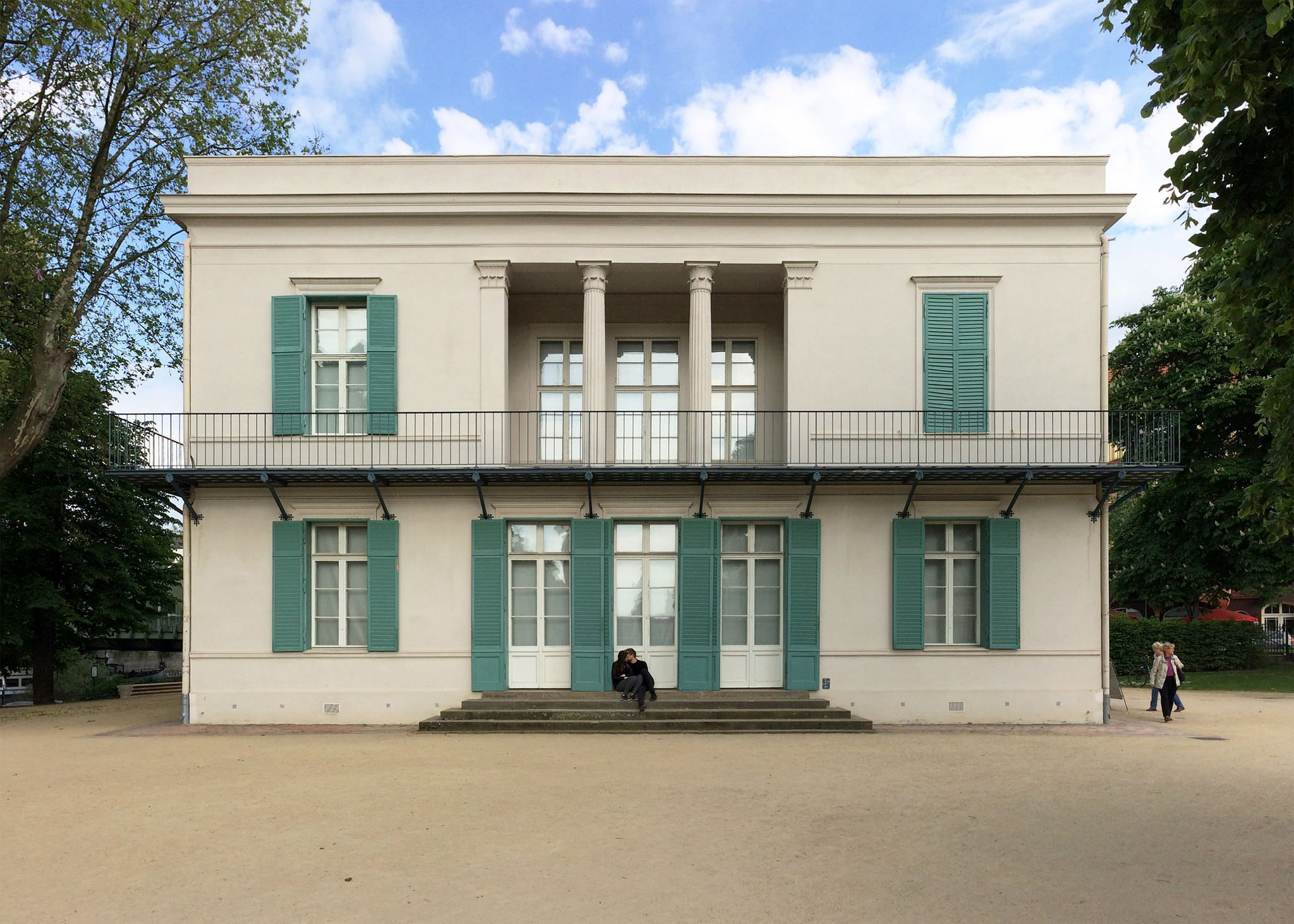 Neuer Pavillon Facade House Architecture Best Architects