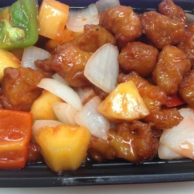 Sweet Sour Chicken All White Meat Chicken With Steamed Rice Medium 6 85 Large 8 95 Substitute Brown Rice Or E Food Sweet Sour Chicken Order Food Online