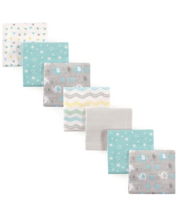 Simple Joys by Carters Baby 7-Pack Flannel Receiving Blankets