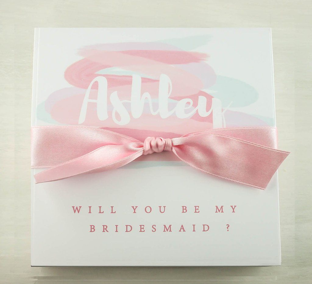 Handcrafted bridesmaid gift boxes ideas   Dressyourgift Bridesmaids ...