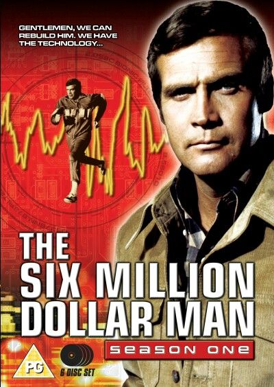 The Six Million Dollar Man Is An American Television Series About A Former Astronaut With Bionic Implants Working Favorite Tv Shows Television Show Classic Tv