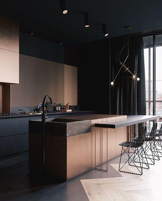 Küche Inspiration Stuhl #minimalinteriors