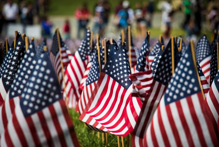American Flags on Boston Common - The Meaning Behind Memorial Day - The  Life Chest - Journal