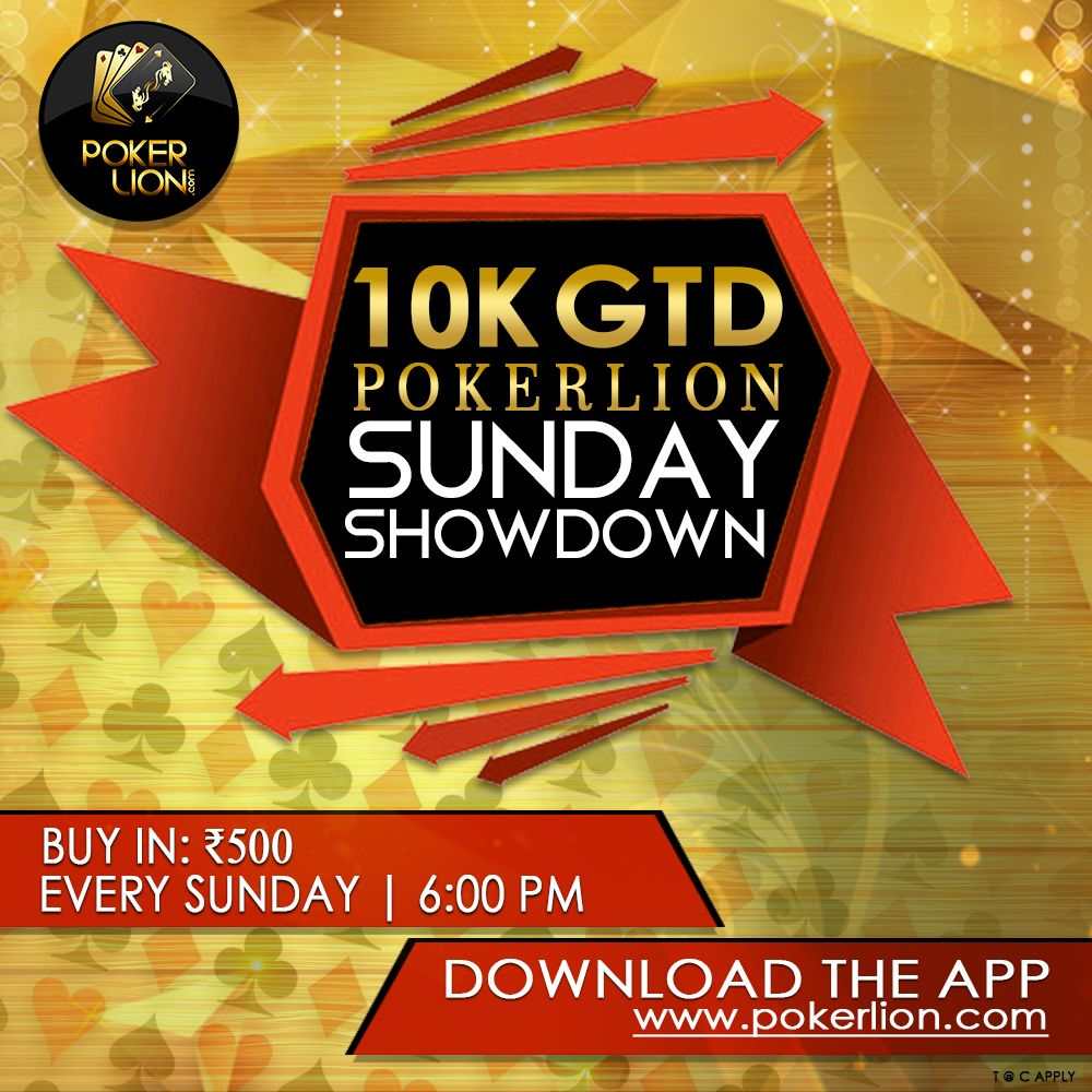 Don't miss out the Sunday fun Register at