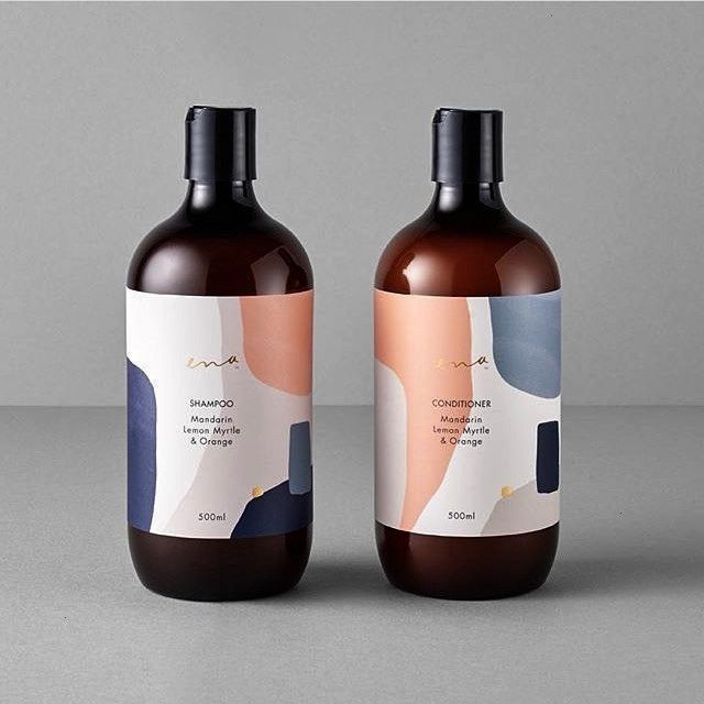 AC  Packaging Inspo on Instagram Is this not the best hair care packaging youve ever seen The colour palette is driving us wild Design by ortolandesign   careStudio AC  P...