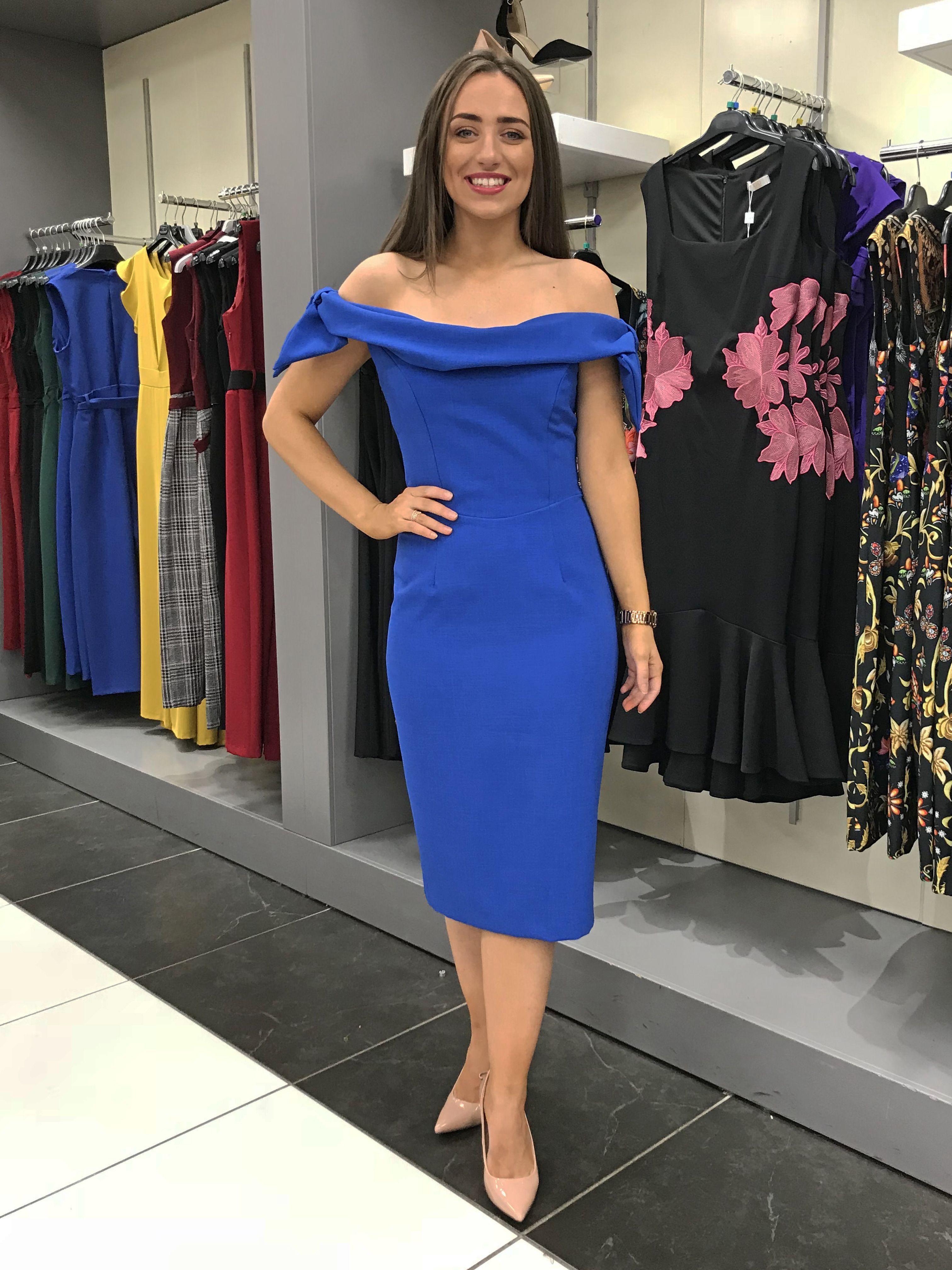 2085029a5dc The Pretty Dress Company, Pencil Dress, Blue Dresses, Pretty Dresses, Cap  Sleeves