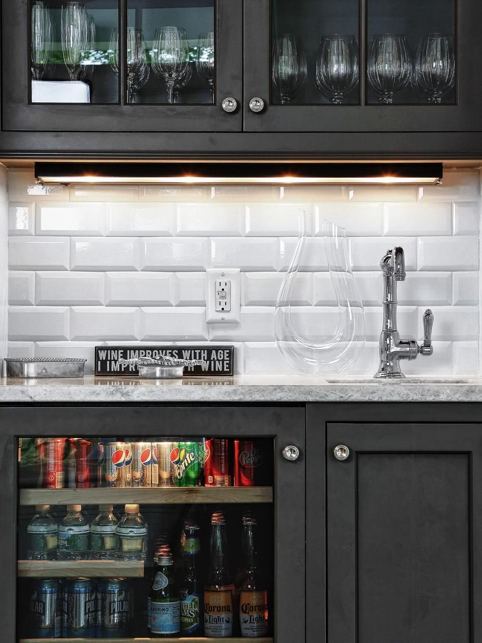 15 Stylish Small Home Bar Ideas | Wet bars, Bar and Sinks
