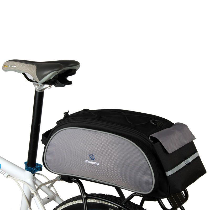 Bicycle Bag Bike Rear Pack Seat Cycling Pannier Waterproof Bag Carrier Black Uk In Sporting Goods Cycling Bike Accessories Ebay Bicycle Panniers Bike Panniers Bike Saddle Bags