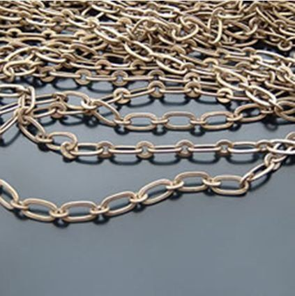 2 Metres x Figaro Link Chain Jewellery Making