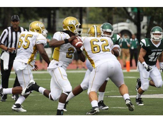 Alabama State University Football On The Campus Of Alabama