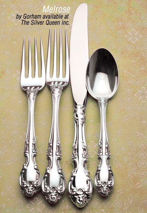 photos of silverware patterns gorham silver flatware patterns free patterns - Sterling Silver Flatware