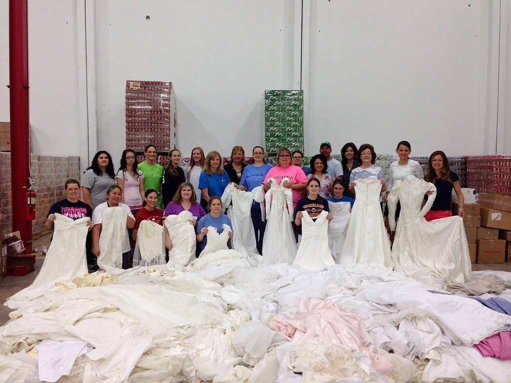 See How Your Old Wedding Dress Can Help Grieving Parents Heal Old Wedding Dresses Donate Wedding Dress Wedding Dresses