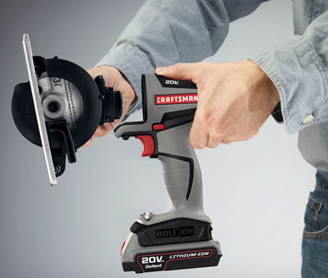 I Love this!!! Craftsman Bolt-On Modular Power Tools | Cool Material