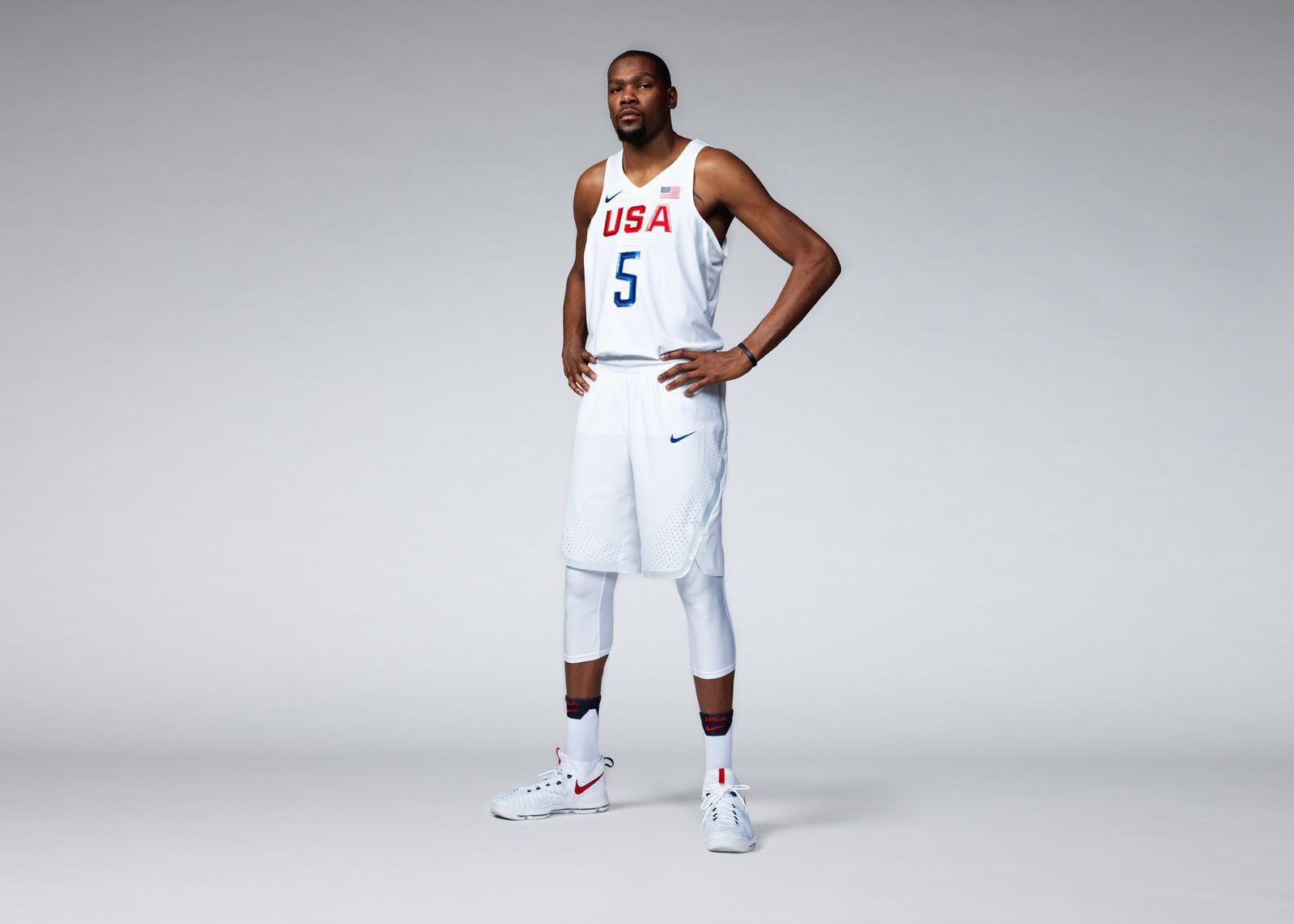 8f9a37d5c32 USA 2016 Nike Vapor Basketball Uniforms | basketball jersey | Team ...