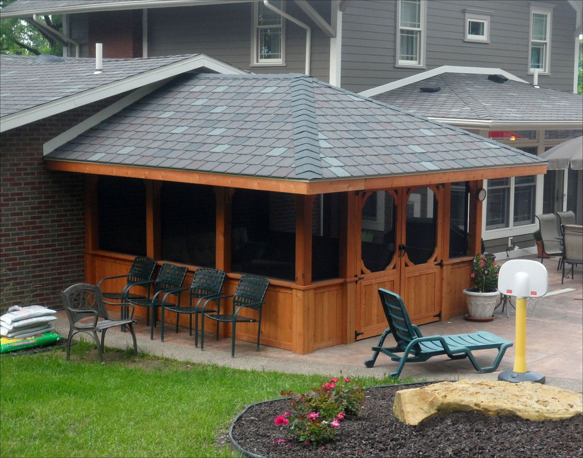 Exceptional Gazebo Ideas Patio Decks And Screened In Gazebo With Pop Up Tent .