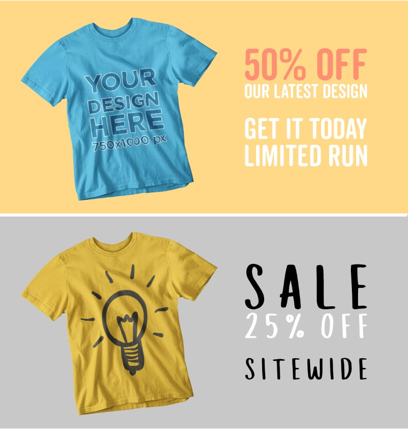 Placeit Simple Facebook Ad Template Facebook Ad Maker For T Shirts Ad Maker Facebook Ad Template Facebook T Shirt