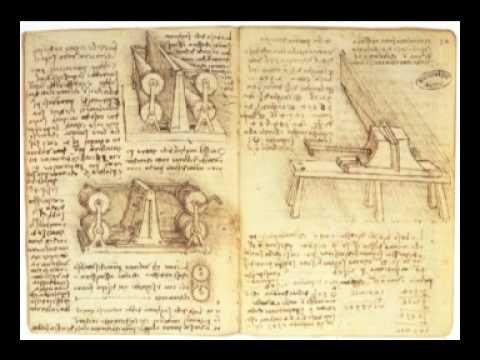 Leonardo da Vinci music ~ This is an odd and rare piece of