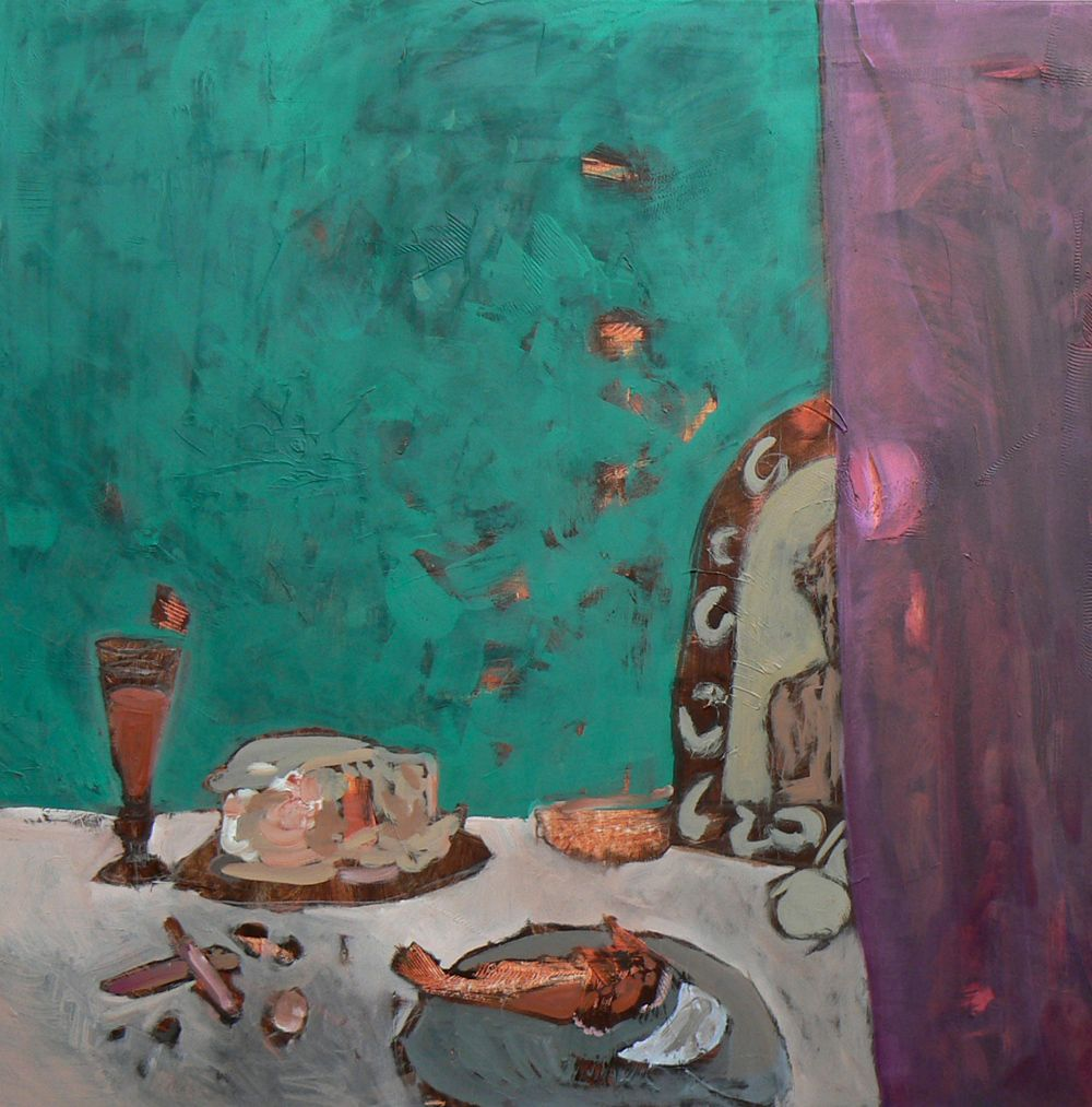 p-Simon-Blau-Nature-morte-au-hareng-100x100 | peinture | Pinterest ...