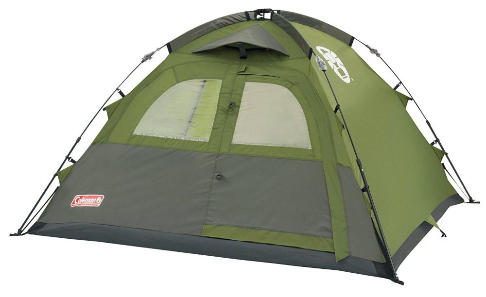 Coleman Instant Pop Up Dome 3 Man Person C&ing Festival Tent  sc 1 st  Pinterest & Coleman 3 Man Tent Instant Dome Fast Pitch Family Camping Festival ...