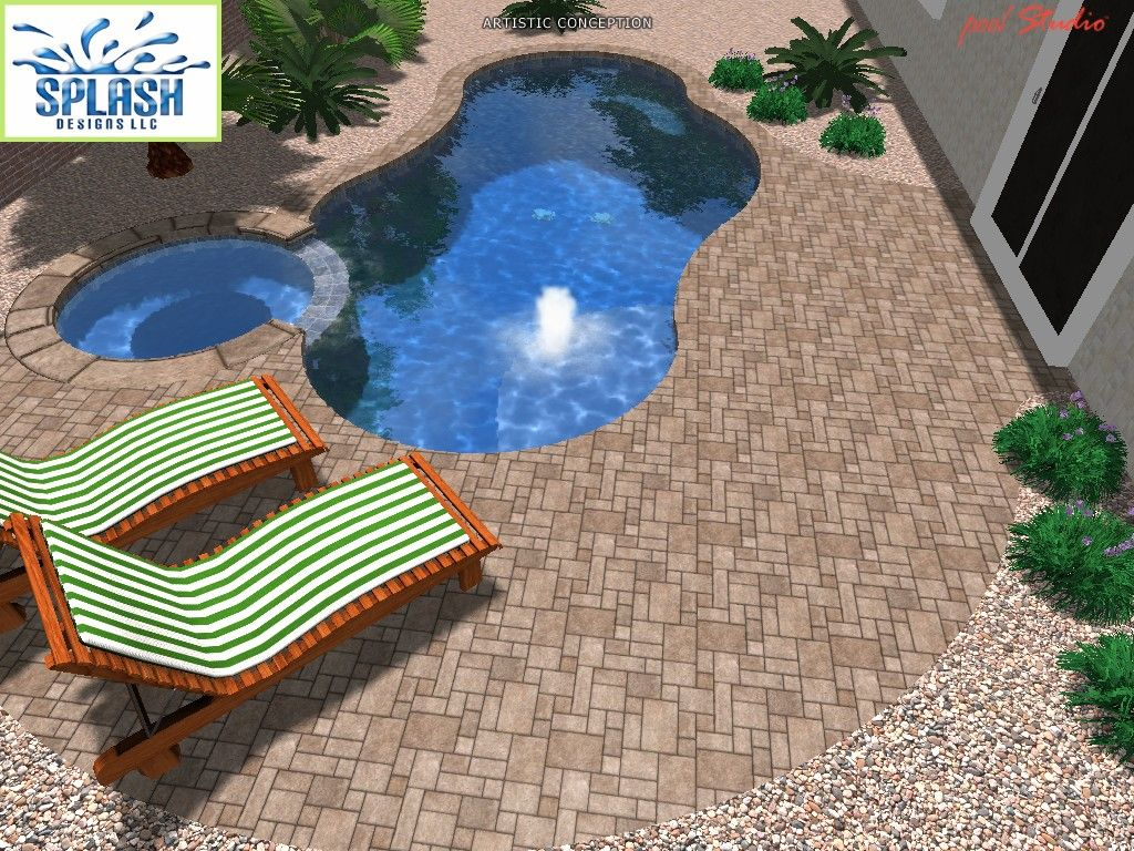pool designs splash designs llc swimming pool design and construction las vegas - Swimming Pools Designs