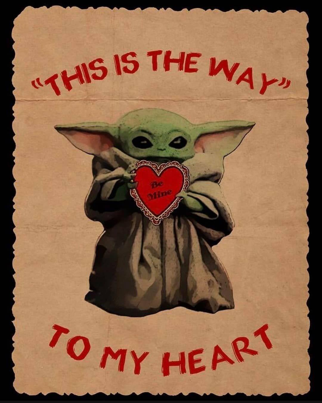 6 195 Likes 51 Comments Baby Yoda Babyyodadaily On Instagram Wuv You Wif All My Heart Yoda Drawing Yoda Wallpaper Star Wars Art