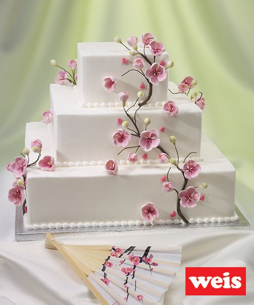 Weis Markets Exclusive Wedding Cake 14x10x6 – Serves - 166 · 3 tiers ...