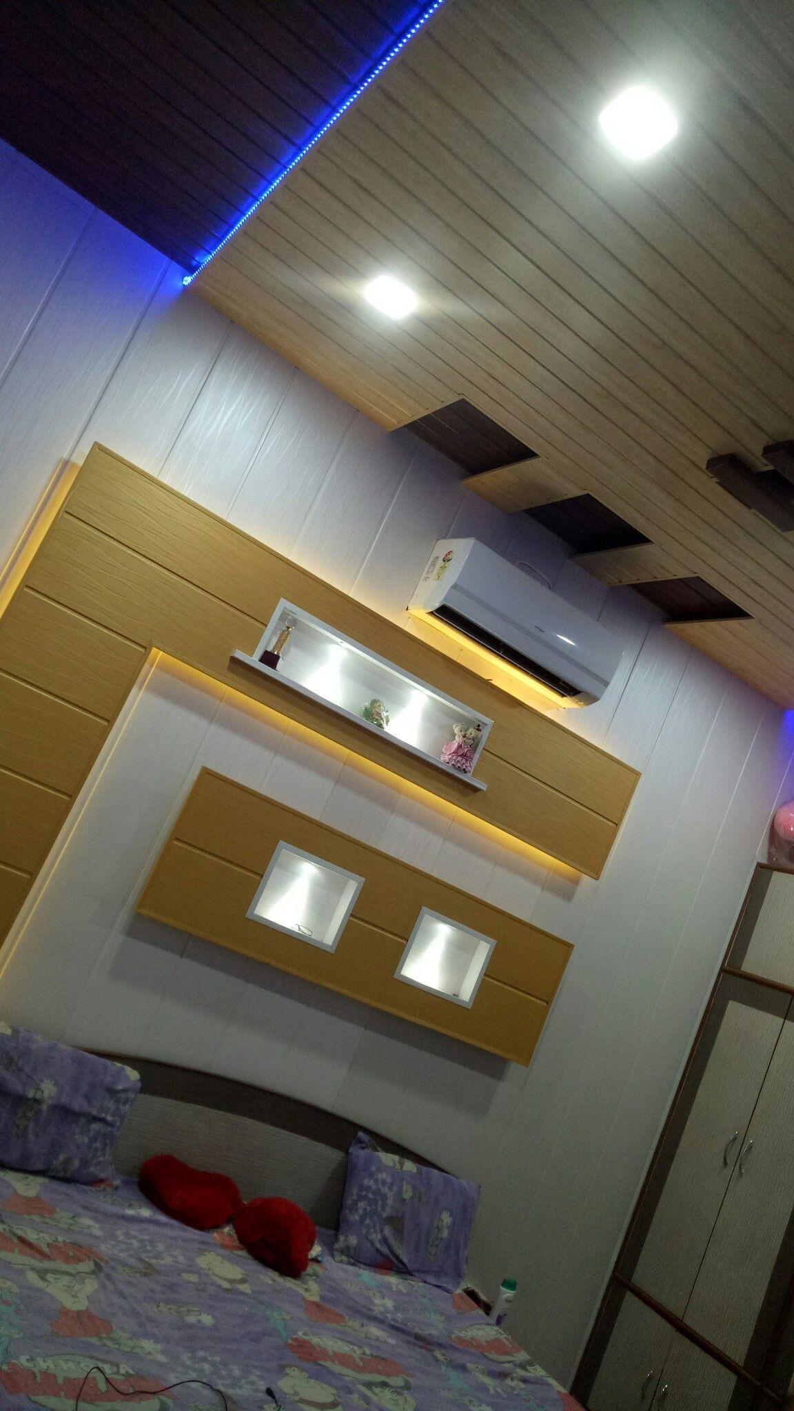 Pvc Wall Panels Living Room Pvc Wall Panels In 2020 Pvc Ceiling Design Ceiling Design Bedroom Pvc Wall Panels Bedroom design ideas pvc