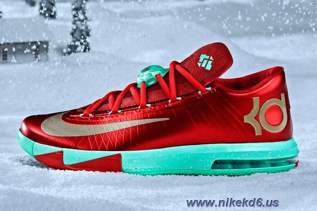detailed look 2a0f4 3bb8a ... Nike KD VI Christmas Pack Sale 2014 The Kevin·Durant Pinterest ...