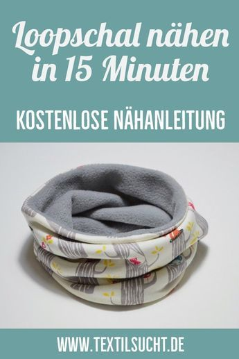 Photo of Nähanleitung: Loopschal nähen in 15 Minuten