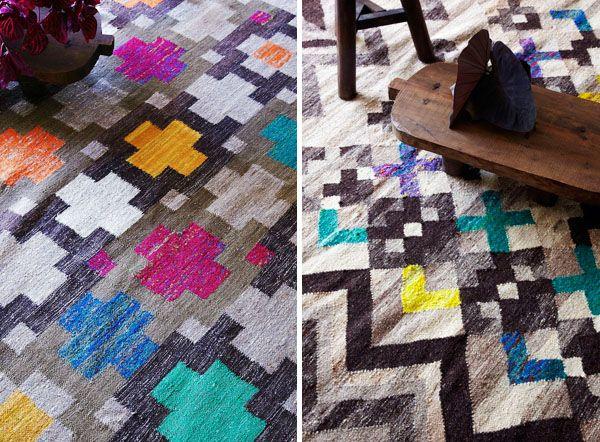 Mariella Ienna rug designs, Cultiver.   Photo: Cath Muscat | Styling: Nicolle Sullivan