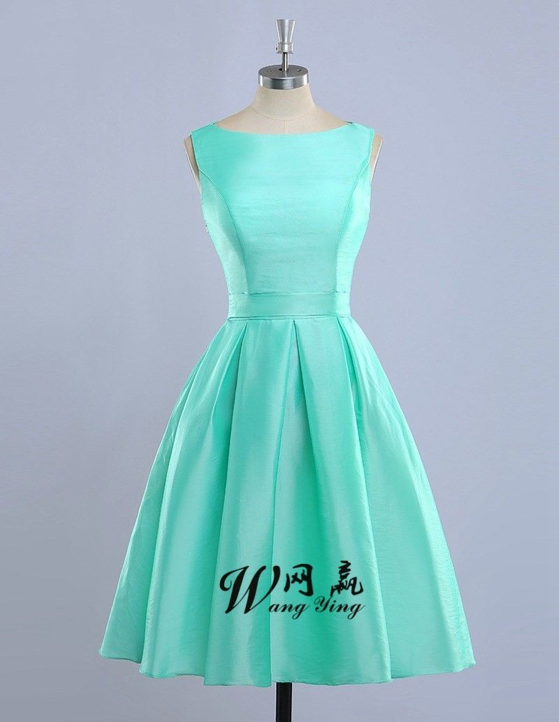Click to Buy << Vestidos De Madrinha Mint Green Bridesmaid Dresses ...