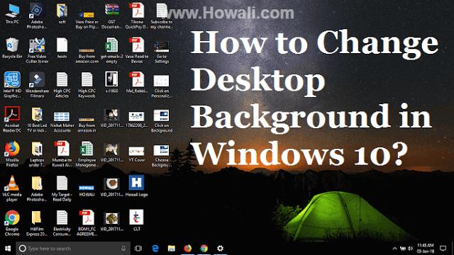How To Change Desktop Background On Windows 10 Backgrounds Desktop Windows 10 Desktop Backgrounds Windows 10