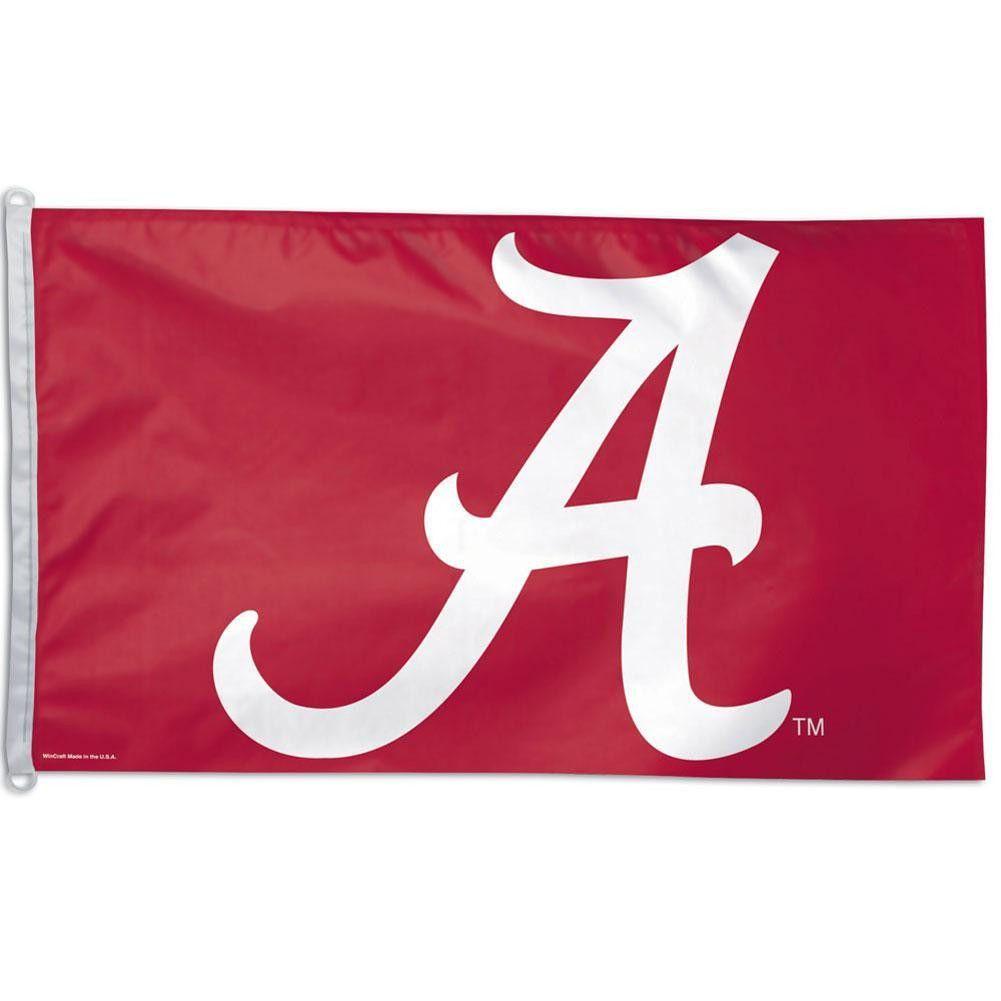 Alabama Crimson Tide Logo 3x5 Flag Alabama Crimson Tide Logo