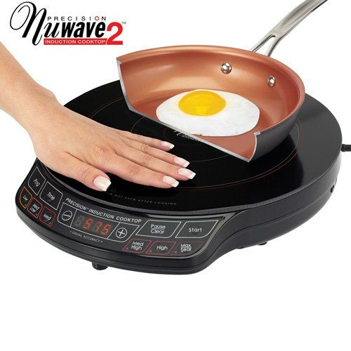 Nuwave 2 Precision Induction Cooktop With 9 Pan Visit The Image Link More Details Note Amazon Affili Induction Cooktop Outdoor Kitchen Appliances Cooktop