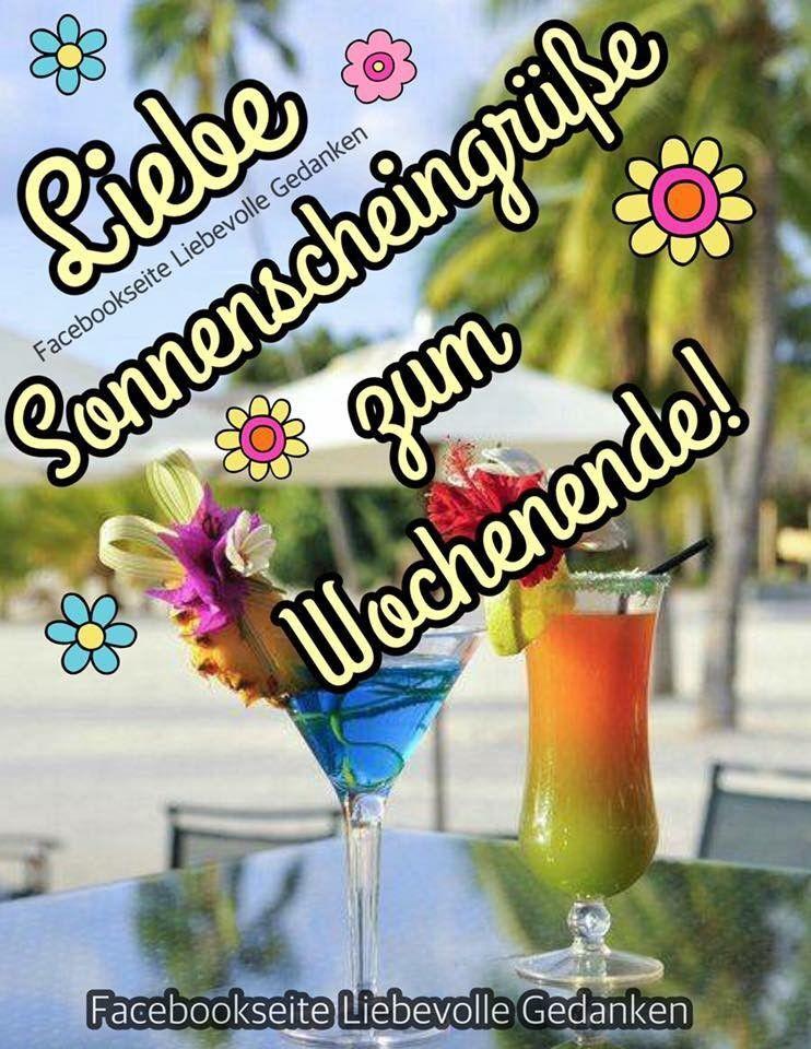 Wochenendgrüsse | Grüße zum wochenende, Wochenende sprüche ...