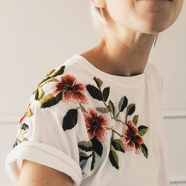 Pinterest Clothes Embroidery And