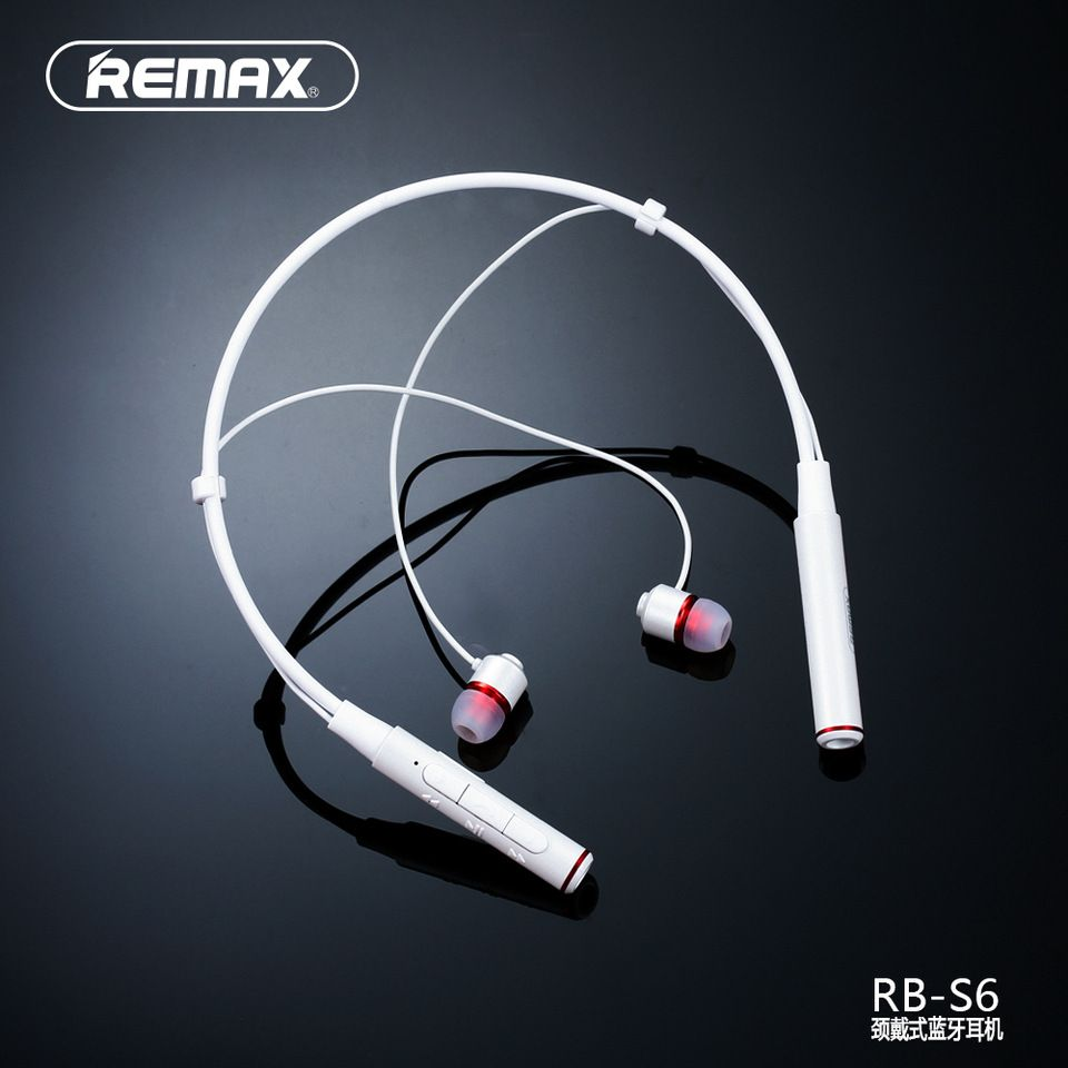 REMAX New Designed RB-S6  WUKONG  Sport Neckband Magnetic Bluetooth Earphone 03e68e0f8f