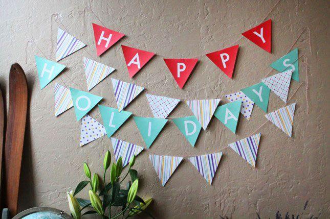 DIY Basics: Pennant Flag Banners (+ Free Printables!)   Pennant ...