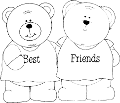 Friendship Day Clip Art Black And White Coloring Pages For Girls Coloring Pages Unicorn Coloring Pages