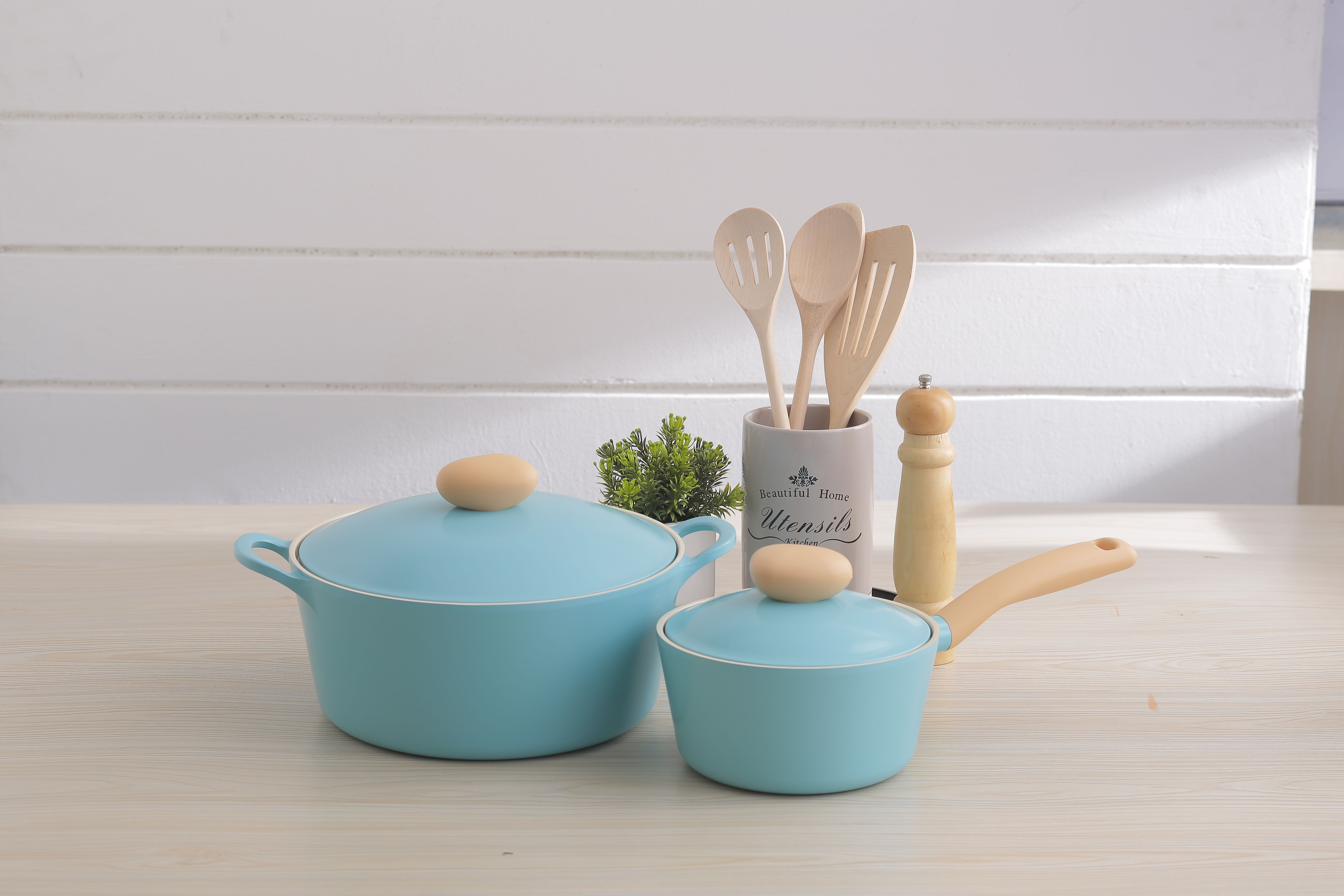 Neoflam Retro 26cm Casserole and 18cm Sauce Pan | Kitchen Essentials ...