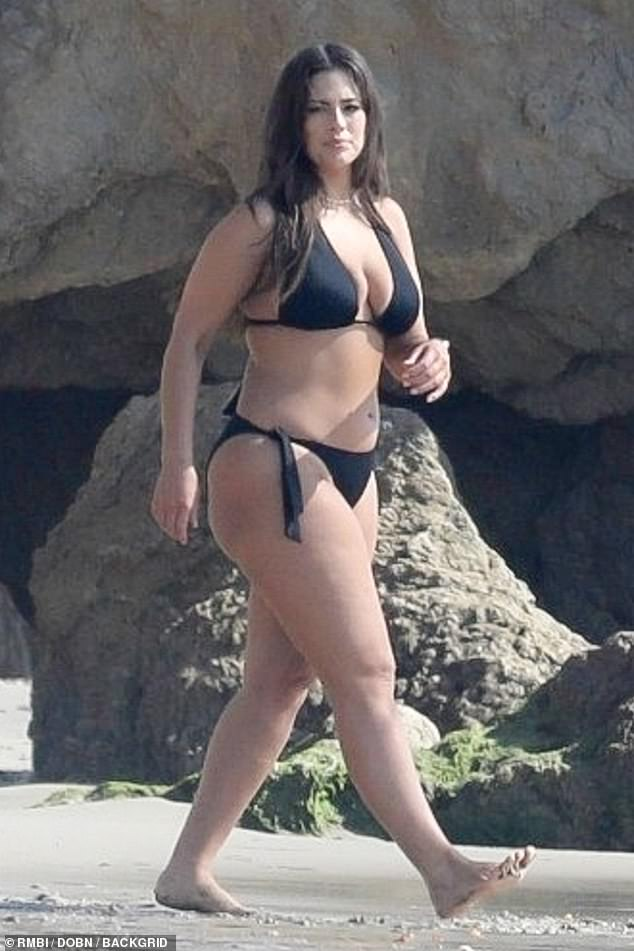 Photo of Ashley Graham showcases her famous curves in sizzling bikini photo shoot on Malibu shores | cannibutterrecipe
