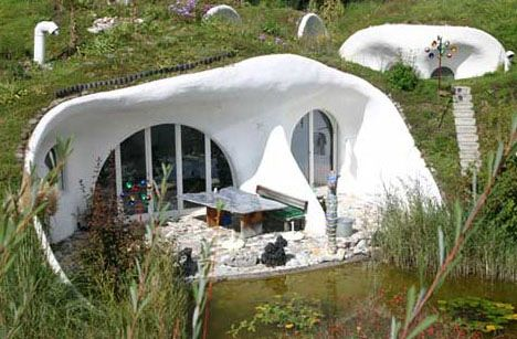Beau Eco Retro Earth House Designs
