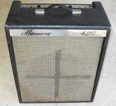 1966 Harmony 420 (Valco 6L6-similar to Thunderbolt) schematic saved on