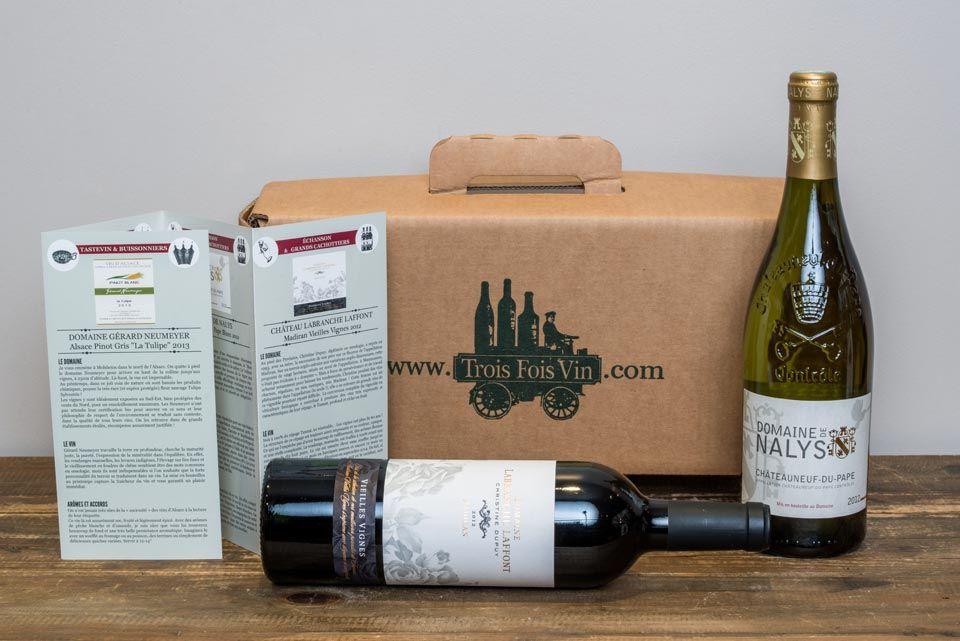 Une de nos box deux bouteilles !  #Vinvinvin